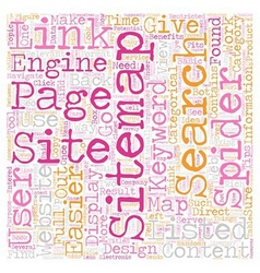 JP sitemap text background wordcloud concept vector