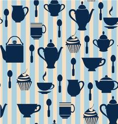Teatime Background - vector