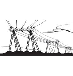 Transmission of high voltage vector