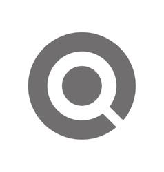 Letter Q Logo Concept Icon vector image vector image