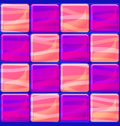 tiles texture seamless with waves vector image