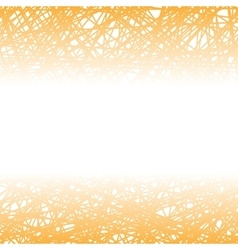 Abstract Orange Line Background vector image