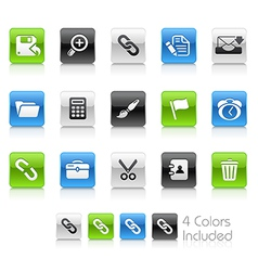 Interface Clean Series vector image vector image