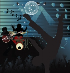 live concert vector image