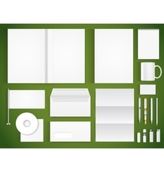 Office supply vector image vector image