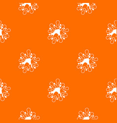 aids virus pattern seamless vector image