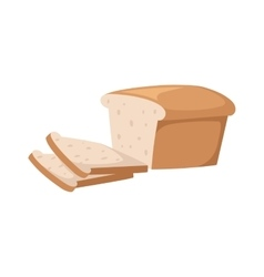 Bread slices vector image
