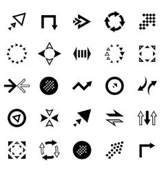 Creative Arrow Icon Set vector