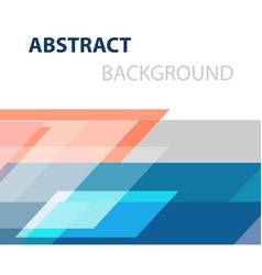Geometric overlapping business abstract background vector