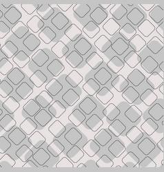 Geometric stitch shapes seamless pattern vector