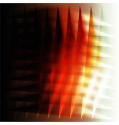 Orange grid background design vector image