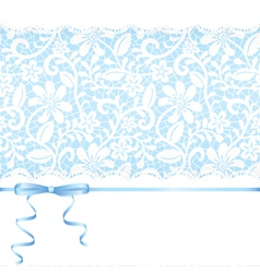 Lace backgraund vector image vector image