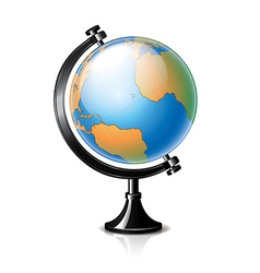 object classic globe vector image vector image