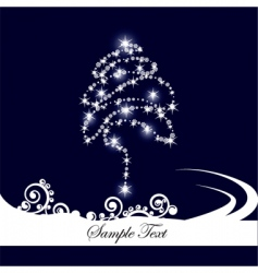classy christmas vector image