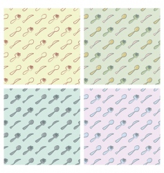 cutlery pattern vector image