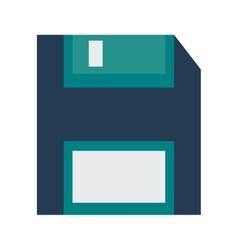 diskette device gadget design vector image