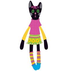 Doll - cat vector