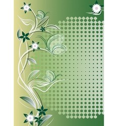 flovers vector image