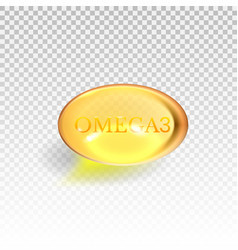 gel pills vitamine d e omega3 fish oil vector image