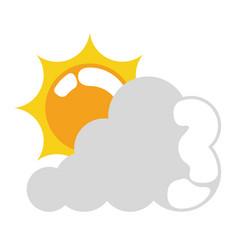 Isolated sun icon vector