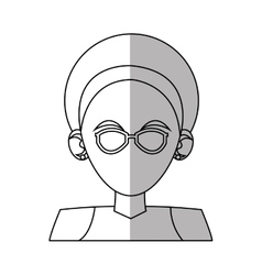 Isolated woman avatar design vector