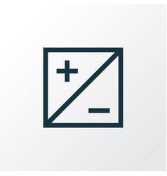 Mode icon line symbol premium quality isolated vector