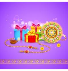 Raksha Bandhan Gift vector