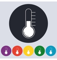 Stock Linear icon thermometer vector