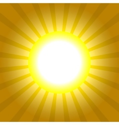 Sun rays pattern absctract background vector