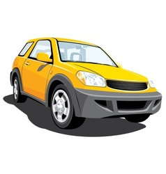 Yellow crossover vector