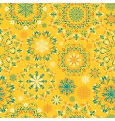 yellow snow pattern vector image