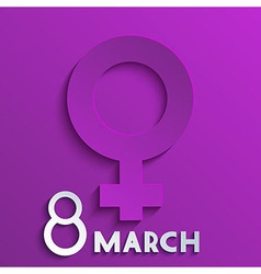 womens day background Eps10 vector image vector image