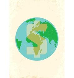 Earth money vector image vector image