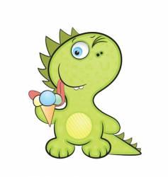 dragon baby vector image vector image
