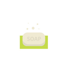 Antiseptic soap disinfectant icon over white vector