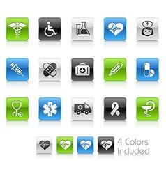 Medicine Health Care Clean Series vector image