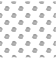 Small window frame pattern seamless vector