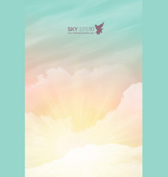 vertical background with realistic vector image
