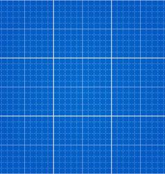seamless blueprint background vector image