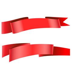 ribbon icon vector image vector image
