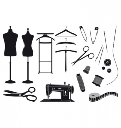 tailoring vector image