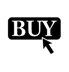 buy it sign black icon on vector image vector image