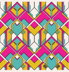 abstract art geometric seamless pattern vector image