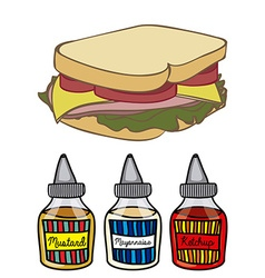 Cook design vector image