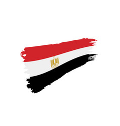 egypt flag vector image
