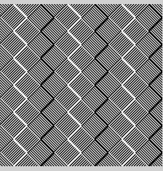 Grid lattice pattern with rectangle shapes vector