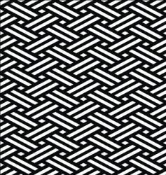 Japanese tatami mat vector image