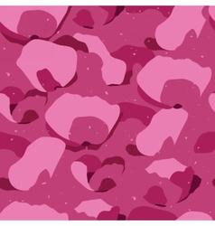 Random petals seamless pattern vector