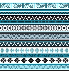 tribal seamless pattern abstract background vector image