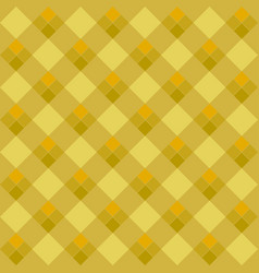 yellow argyle seamless pattern vector image